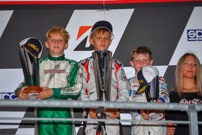 WSK Euro Series, Round 4 | Newman Motorsport e Davide Larini ottimo secondo posto in Finale B. Andrea Filaferro si impone in Prefinale