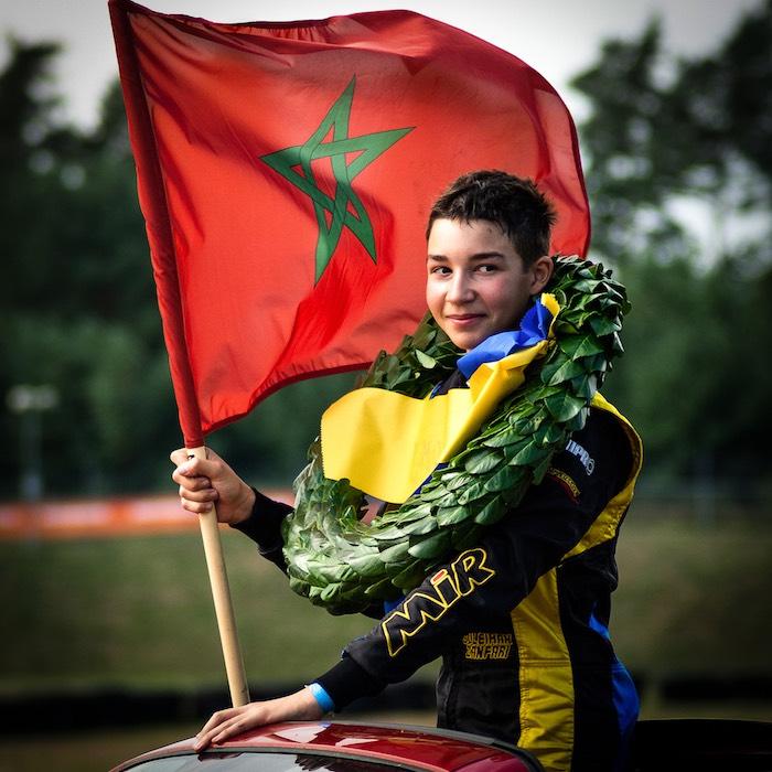 Suleiman Zanfari, 2019 Swedish OK-Junior Champion