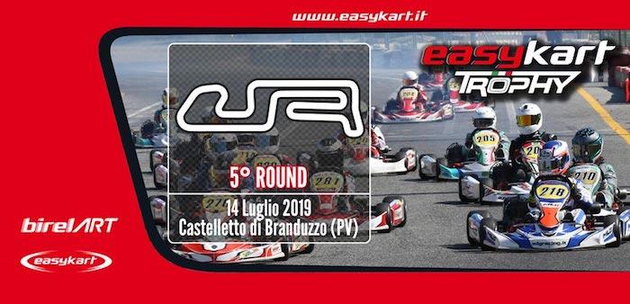 Trofeo Easykart -El 14 de julio en Castelletto la quinta ronda de la temporada