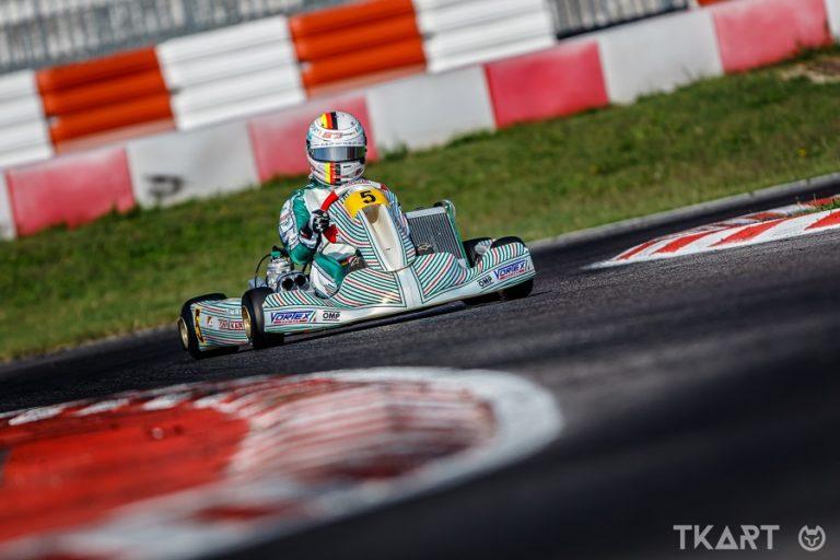 ESCLUSIVO: Sebastian Vettel fa una full immersion di kart con Tony Kart