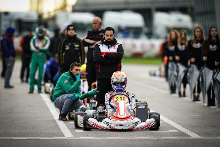 Doppio podio Parolin nella Mini e nella OK-Junior con Khavalkin e Kucharczyk