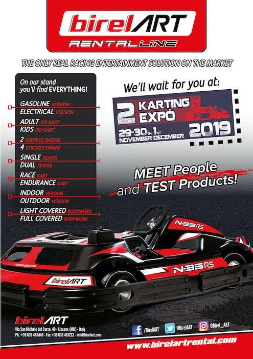 BirelART te espera en la segunda edición de la Adria Karting Expo