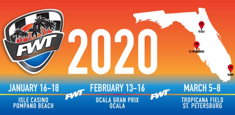 Se confirmaron las sedes del Florida Winter Tour 2020 de Rok Cup Promotions