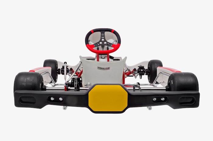 Chasis Rotax DD2 con parachoques trasero homologado CIK-FIA para eventos FIA karting calendar 2020