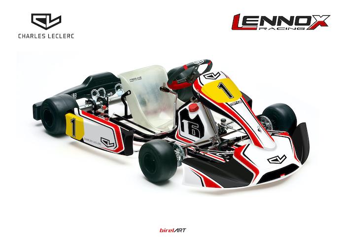 Charles Leclerc by Lennox Racing: una bella formazione per una partenza alla grande