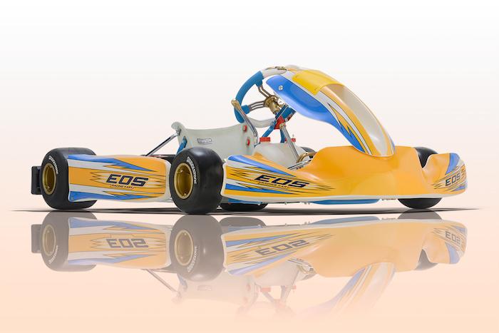 EOS, il nuovo brand dell'OTK Kart Group