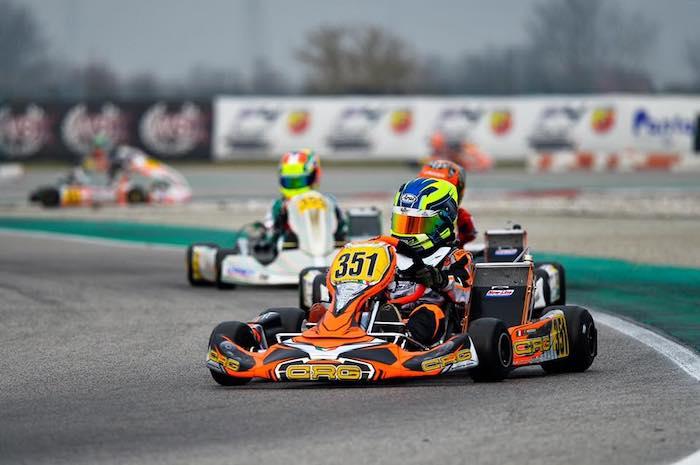 Shakedown para el CRG Racing Team en la WSK Super Master Series