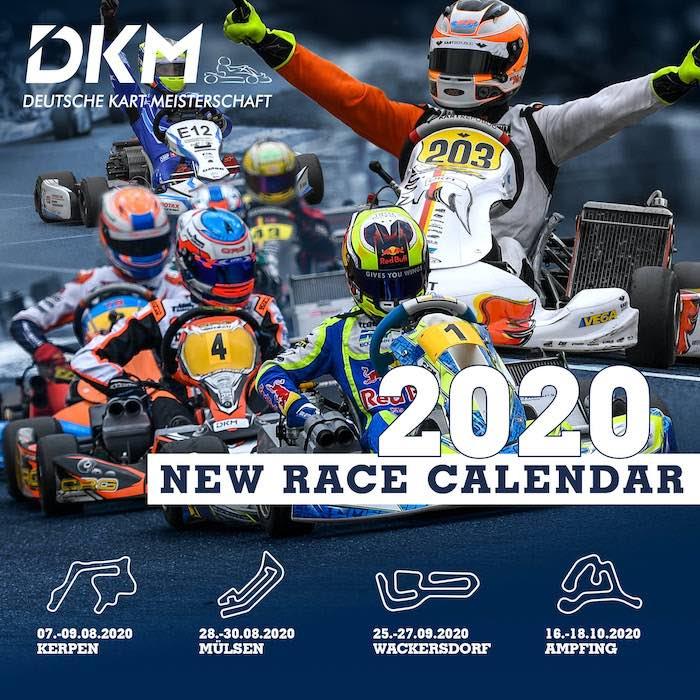 Il DKM ricomincia con 4 gare