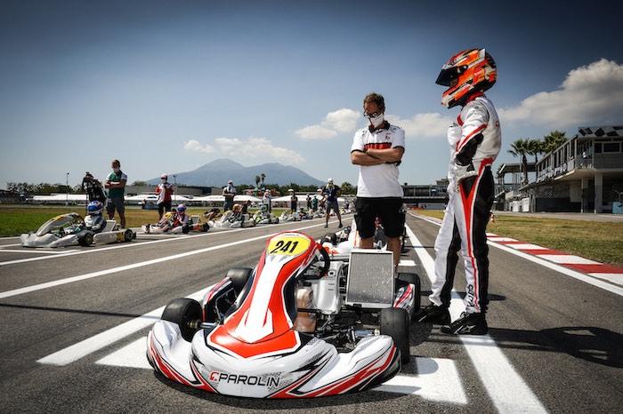 Parolin Racing Kart – Nuovo passo avanti a Sarno