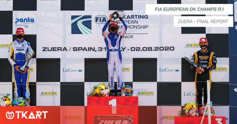 FIA Karting European Championship OK, Zuera: Finale – Trionfo di Andrea Kimi Antonelli
