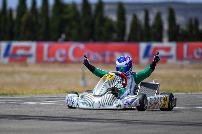 Tony Kart wins in Zuera
