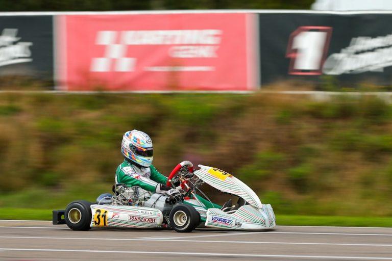 Tony Kart conquista il terzo posto all'Europeo KZ
