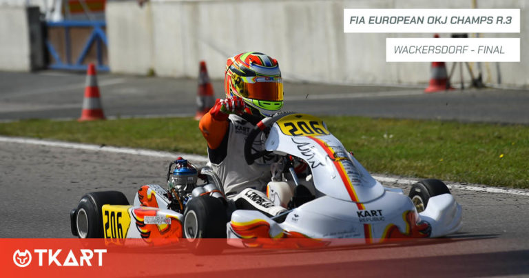 Campeonato de Europa de Karting de la FIA OK y OKJ, Wackersdorf: Final de OKJ – Arvid Lindblad gana pero el título es Ugo Ugochukwu