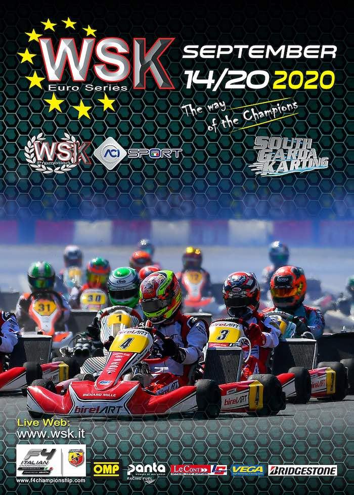 Más de 240 pilotos en Lonato por los títulos de la WSK Euro Series 2020