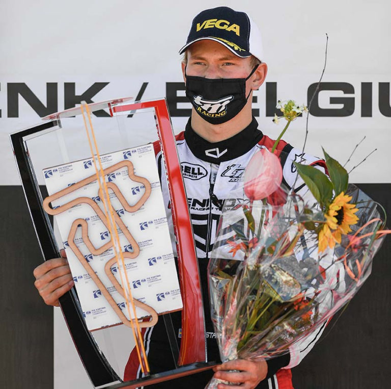 Gustavsson conquista il titolo di Campione Europeo KZ2 per il team Leclerc by Lennox Racing