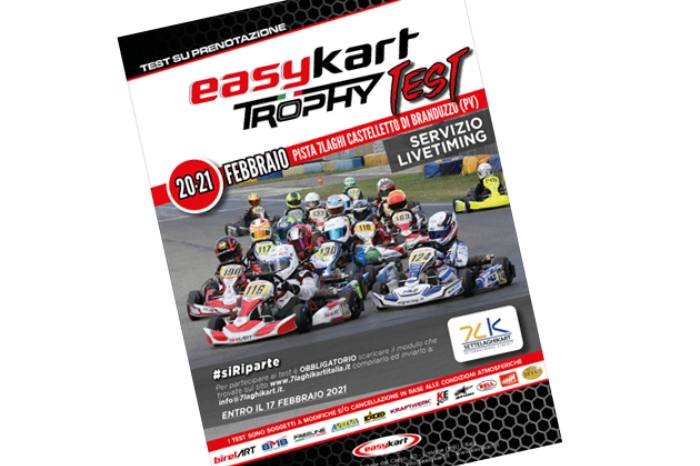 The Easykart paddock is back on track with the first two-day training of the 2021 season