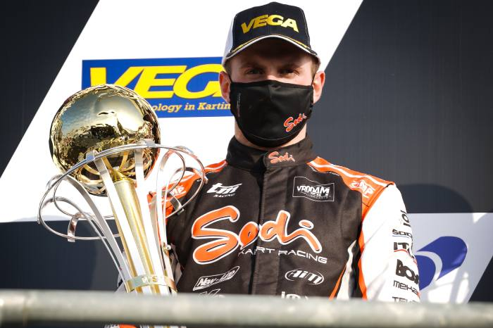 Good start with 2nd place for Renaudin in the WSK Champions Cup