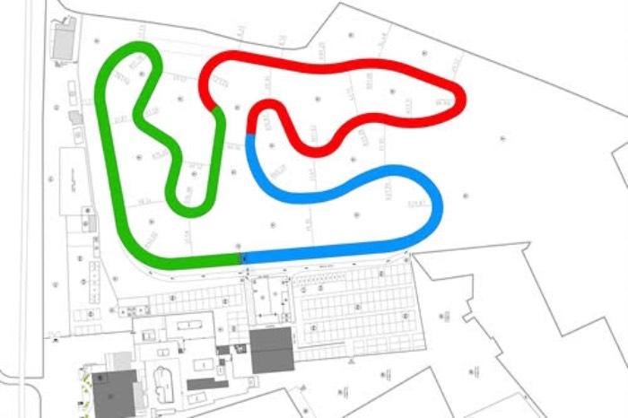 Aquí está el nuevo diseño esperado del Circuito Internacional de Sarno de Nápoles