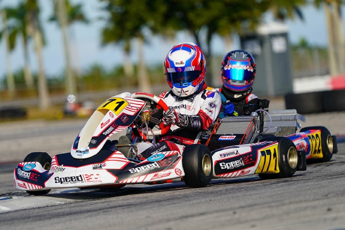 Speed Concepts Racing grows to five for SKUSA Winter Series finale