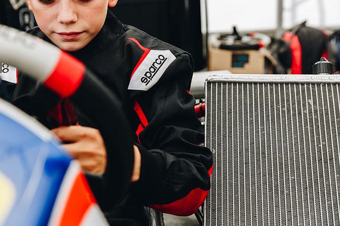 Sparco® e le partnership nel karting per la stagione 2021