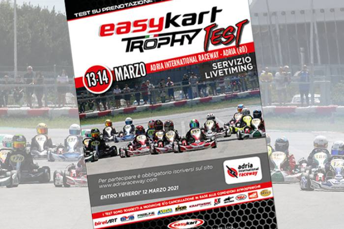 Registrations are open for the second Easykart collective test session