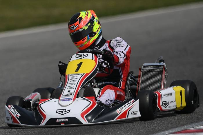 Leclerc by Lennox Racing wins the bronze medal at the WSK Super Master Series