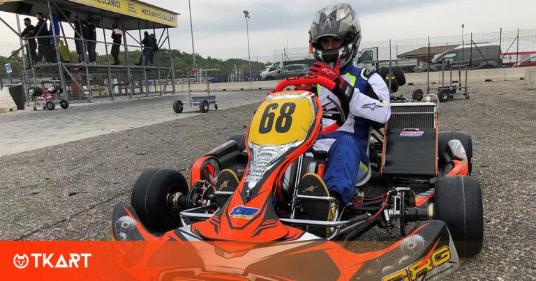 Test in pista a Lonato per Jaime Alguersuari con CRG Racing Team