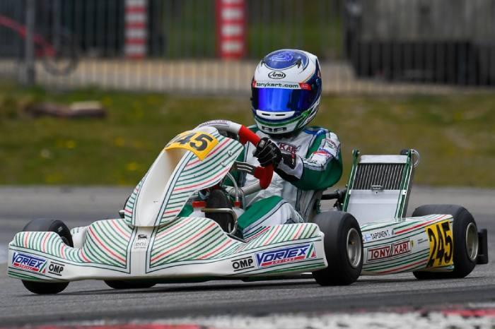 Triple podio para Tony Kart en Genk