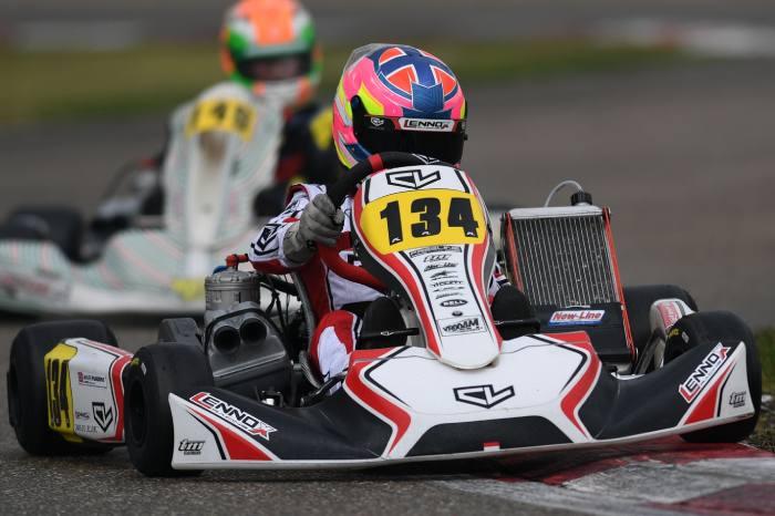 Buen potencial para Leclerc by Lennox Racing en el Campeonato Europeo en Bélgica