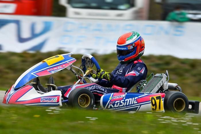Win for Kosmic Kart in Genk