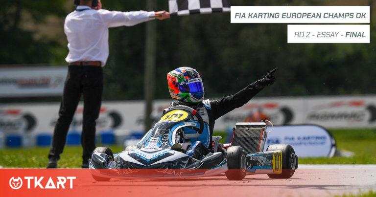 FIA Karting European Championship rd 2, Essay: Finale OK – Antonelli vince e riapre il campionato