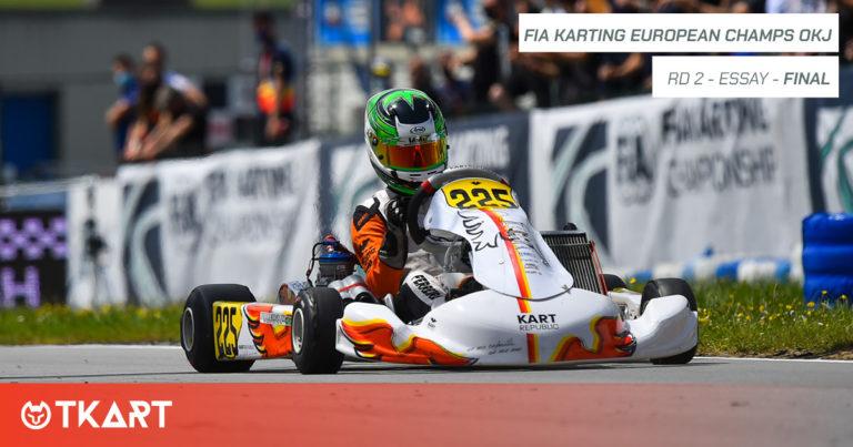 FIA Karting European Championship rd 2, Essay: Finale OKJ – Slater è penalizzato, vince Ferreira