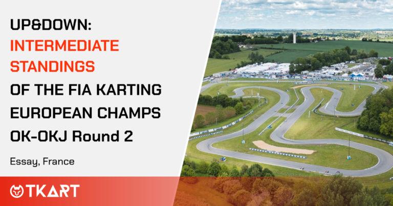 FIA Karting European Championship OK e OKJ rd 2, Essay: Up & Down, la classifica intermedia delle manche