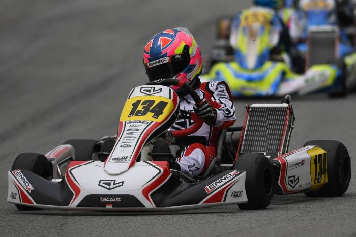 Top sei per Leclerc by Lennox Racing all'Europeo in Francia