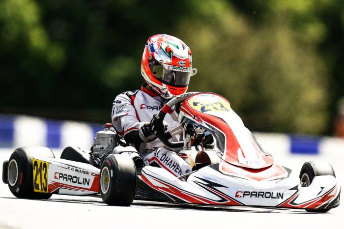 Contrasting results for Parolin Motorsport in the French event