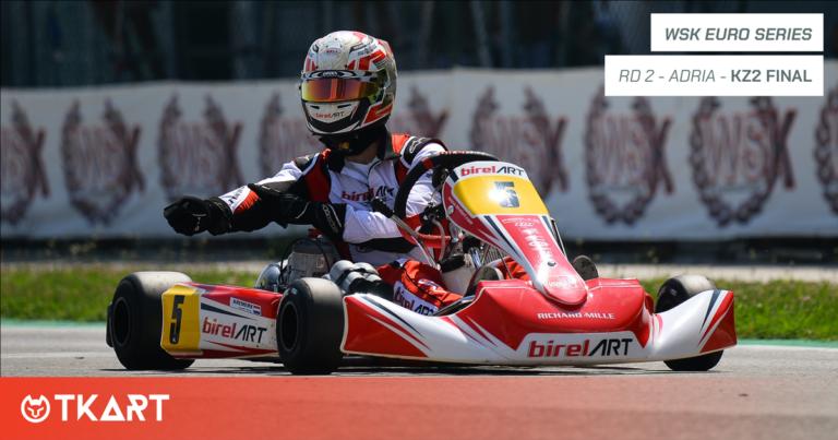 WSK Euro Series rd 2, Adria: KZ2 Final – Kremers lidera un «1-2-3-4» firmado por Birel ART – TM Racing
