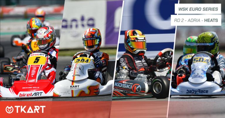 WSK Euro Series rd 2, Adria: heats – The leaders are Kremers (KZ2), Lindblad (OK), Walther (OKJ) and Pesl (MINI)