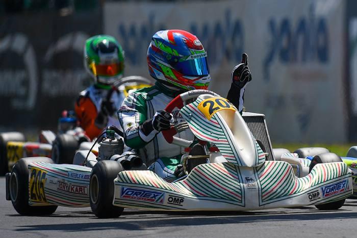 Elettrizzante vittoria europea per Tony Kart a Sarno