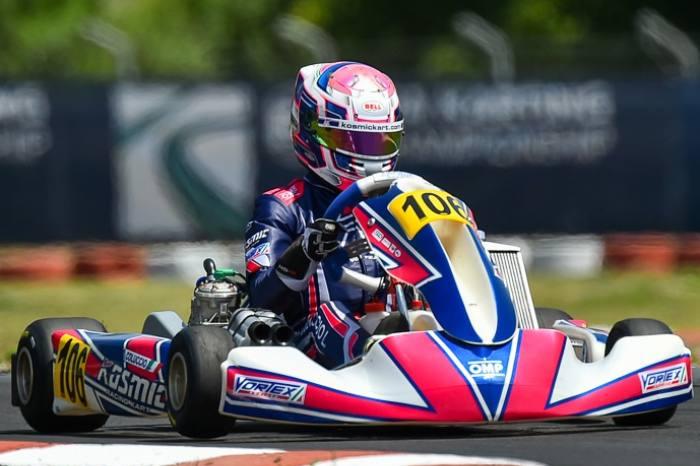 Kosmic Kart once again on the European podium in Sarno