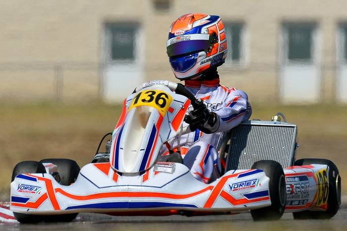 Exprit Kart: pole positions and comebacks at the European Championship OK/OKJ in Zuera