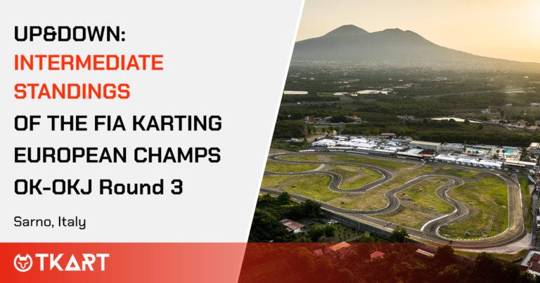 FIA Karting European Championship OK e OKJ rd 3, Sarno: Up & Down, la classifica intermedia delle manche
