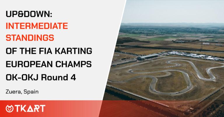 FIA Karting European Championship OK e OKJ rd 4, Zuera: Up & Down, the intermediate ranking of the heats