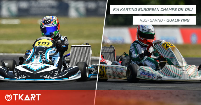 FIA Karting European Championship OK e OKJ rd 3, Sarno: qualifiche – Pole position per Antonelli (OK) ed Egozi (OKJ)