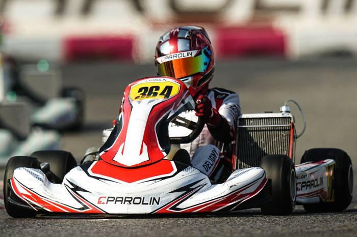 Two top fives at Lonato for Parolin Motorsport