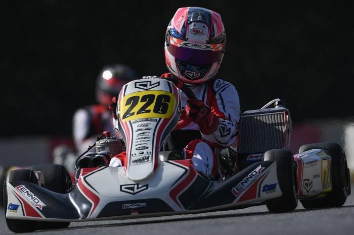 Leclerc by Lennox Racing esprime un buon potenziale nel Round 1 della WSK Open Cup