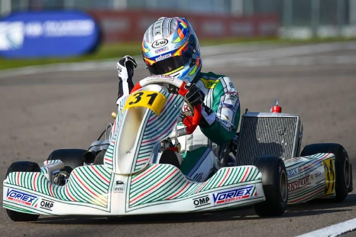Tony Kart è campione del mondo KZ