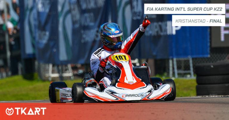 FIA Karting International Super Cup KZ2, Kristianstad: Finale – Un inarrestabile Lorenzo Travisanutto si laurea campione