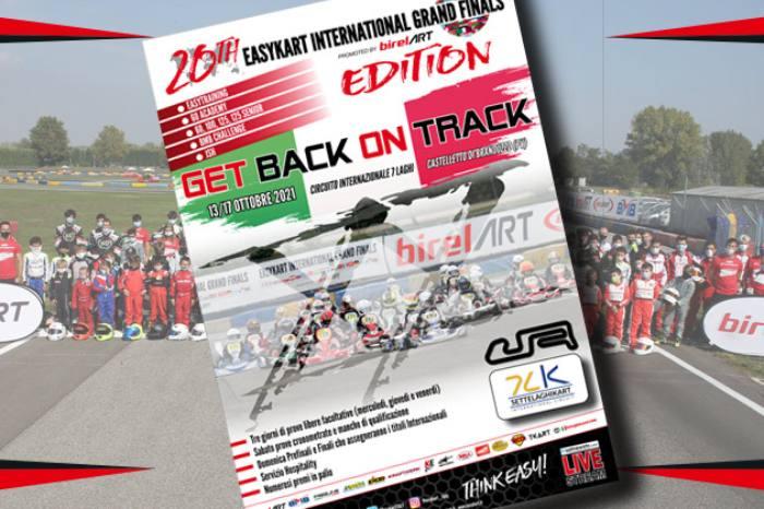 La XX edizione delle Finali Internazionali il 15-17 ottobre a Castelletto