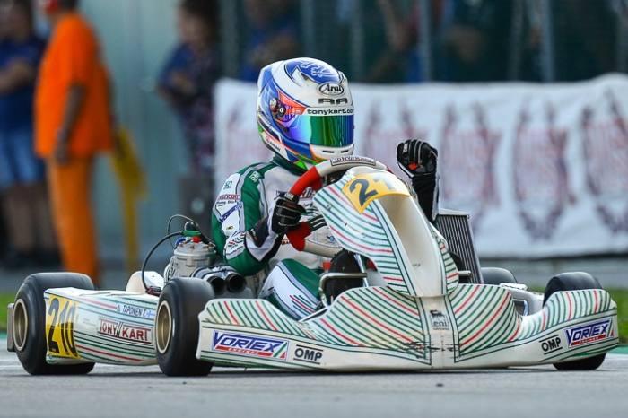 Due titoli Tony Kart nella WSK Open Cup