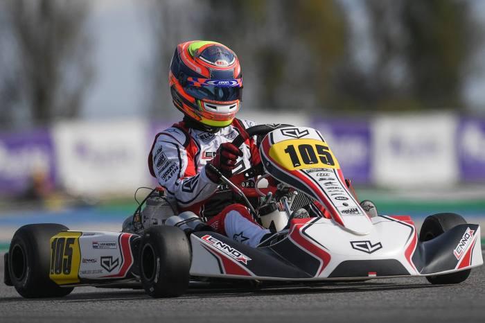 Un fin de semana competitivo en Adria para Leclerc by Lennox Racing
